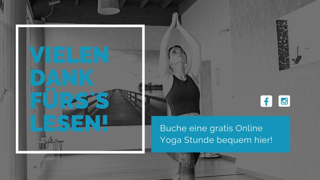 Auf die Matte Blog Online Yoga gratis Banner