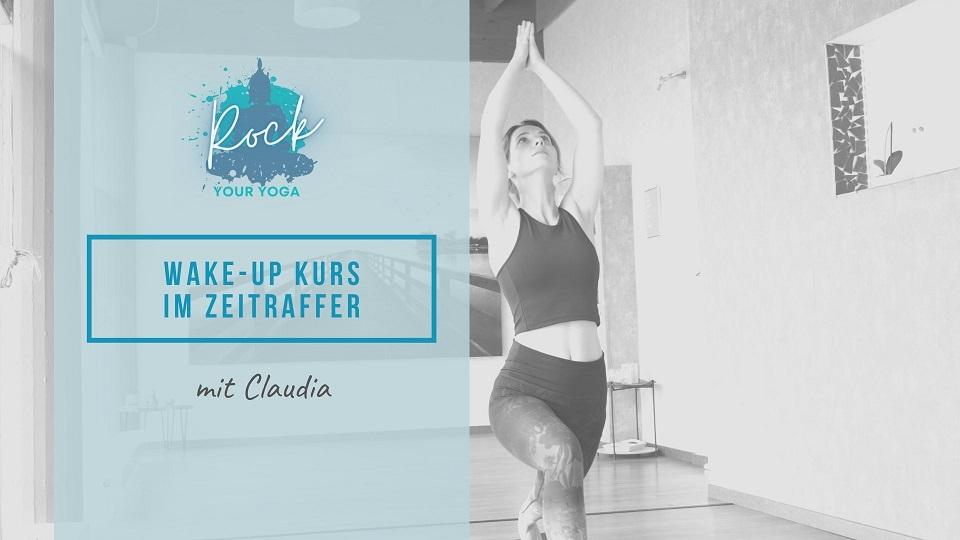 Rock-Your-Yoga-Online-Yoga-Wake up Kurs im Zeitraffer -Cover